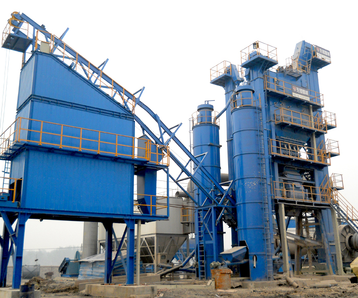 AMP2000 Model Asphalt Mixing Plant